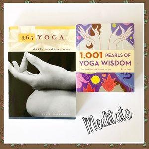 Two Yoga Meditation Books